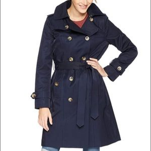 London Fog Women's Double Breasted Trench Coat